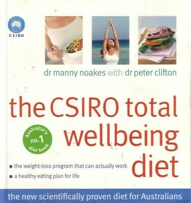 AU24.74 • Buy Csiro Total Wellbeing Diet -noakes 4 Australians Excelnt Weight Loss Recipes Pb