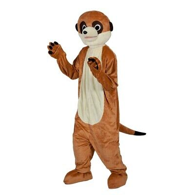 Adult MEERKAT Deluxe Mascot Animal Fancy Dress Costume Stag Charity Run Outfit • 137.95£