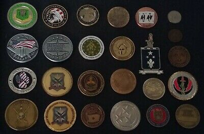 challenge coin lot