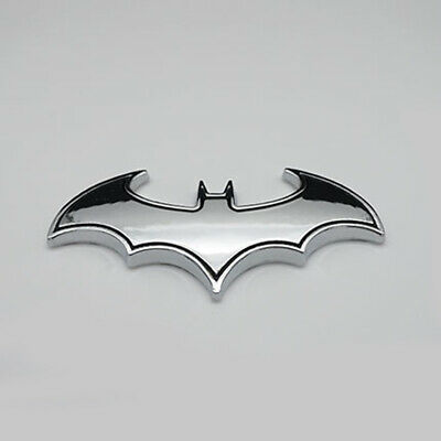 $ CDN1.91 • Buy Chrome Metal Badge Emblem Batman 3D Tail Decal Auto Car Logo Sticker Accessories