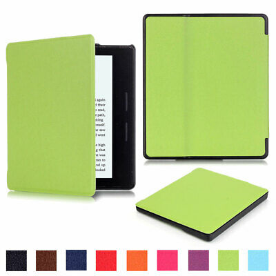 For New Amazon Kindle Oasis 2019 10th Gen Slim Leather Magnetic Stand Case Cover • 7.92£