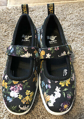 Dr. Doc Martens Soft Wair Floral Flower Mary Janes  Multicolor Womens UK 6 US 8 • 85$