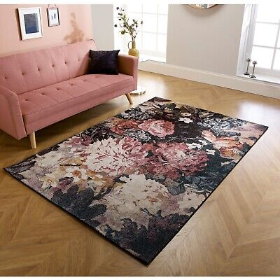 Small  Large High Quality Rug Floral Flowers Soft Modern Rugs Living Room Rugs  • 219.99£