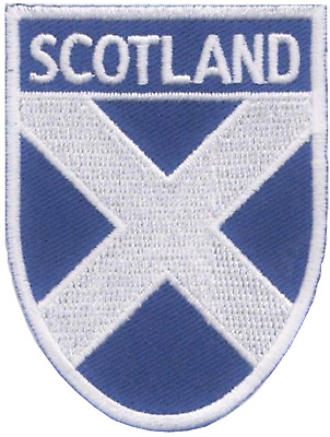 Auchencairn Scotland Town /& City Embroidered Sew on Patch Badge