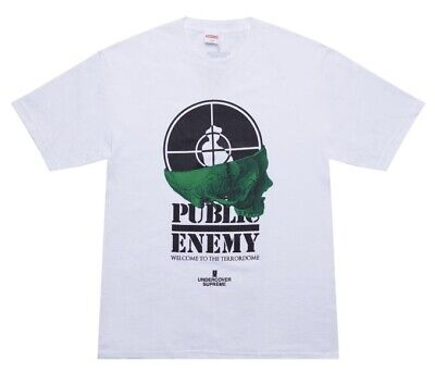 $ CDN135 • Buy Supreme Public Enemy Terrordome Tee Medium Ds Sealed Ss18