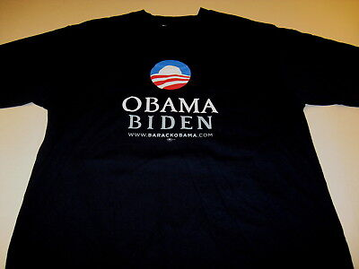 $22.95 • Buy BARACK OBAMA Presidential Election Campaign 2008 T-Shirt XL New! WAREHOUSE FIND!