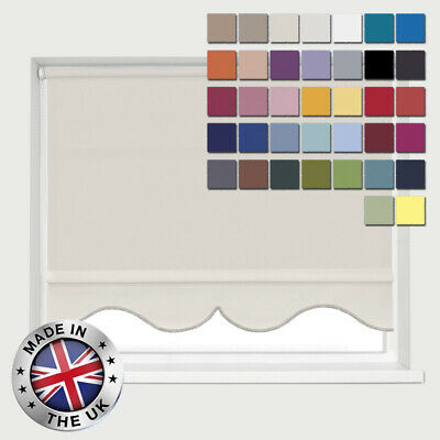 Roller Blinds Arabesque Edge Custom Hand Made To Order In The Uk *not Cut Downs* • 49.89£