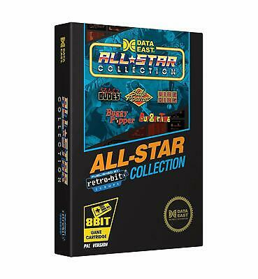 Nintendo Nes Data East All Star Collection With 5 Spielen As Burger Time Pal New • 27.64£