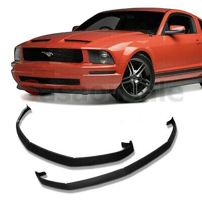 $119.99 • Buy Made For 2005-2009 Ford Mustang V6 Classic Style CDC Front PU Bumper Add-on Lip