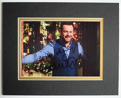 £29.99 • Buy Danny Dyer Signed Autograph 10x8 Photo Display Eastenders TV AFTAL COA