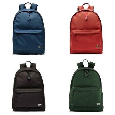 Lacoste Backpack - Lacoste Neocroc Canvas Backpack - NH2677NE - Various Colours • 79.95£