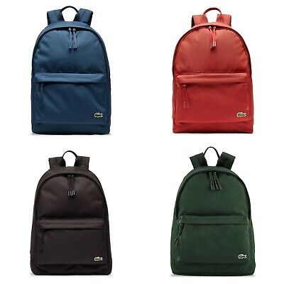Lacoste Backpack - Lacoste Neocroc Canvas Backpack - NH2677NE - Various Colours • 67.95£