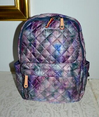 AU261.25 • Buy New $225 MZ WALLACE  Sml METRO  Backpack Bag PIXEL PRINT Oxford Leather Trim