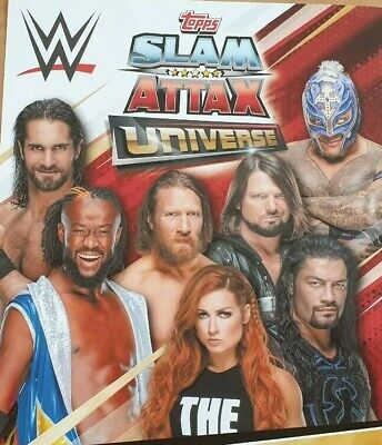 $ CDN2.14 • Buy Topps Slam Attax Universe RAW Smackdown Live NXT 205 Tag Team CHOOSE YOUR CARDS