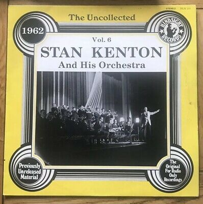 Stan Kenton And His Orchestra- Vol.6- The Uncollected- Vinyl Record • 1.99£