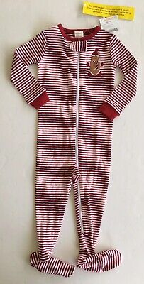 $14.95 • Buy NWT Gymboree Outlet 18-24 Months Holiday Gingerbread Man Cookie Footy Pajamas