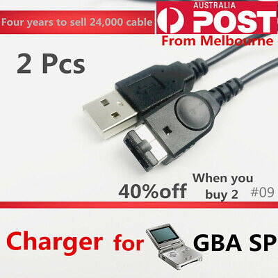 AU6.79 • Buy USB Charger Charging Power Cable Cord For Nintendo Game Boy Advance SP