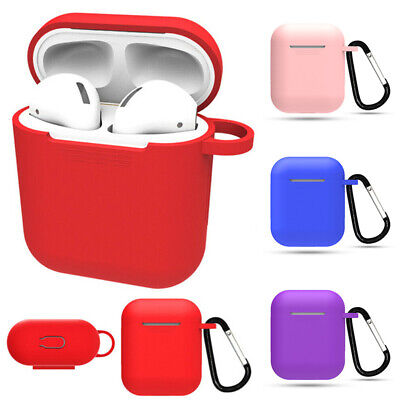 $ CDN1.46 • Buy Earphone Charger Cases Apple AirPods Case Cover Protect Skin Silicone Convenient