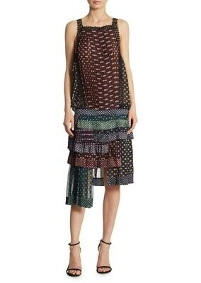 Zimmermann Polka Dot Banded Waist Layered Dress Size:2 $1600 NWT • 199.99$