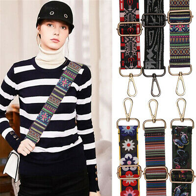 $10.21 • Buy Nylon Shoulder Bag Belt Strap Crossbody Adjustable Replacement Handbag Handle US