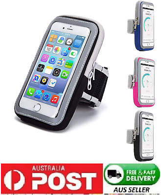 AU9.99 • Buy New Running Sport Armband Jogging GYM Skin Case Holder Cover For Phones AU Post