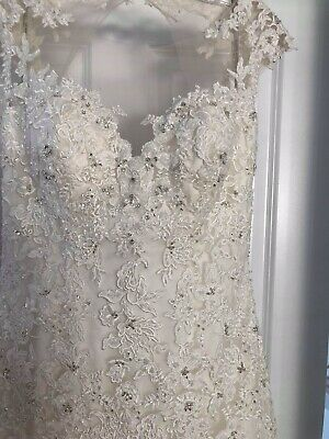 £210 • Buy Maggie Sottero EVIANNA Discontinued Wedding Dress