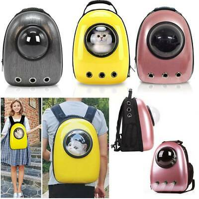 £18.99 • Buy Pet Carrier Durable Backpack Capsule Travel Dog&Cat Bag Breathable Astronaut