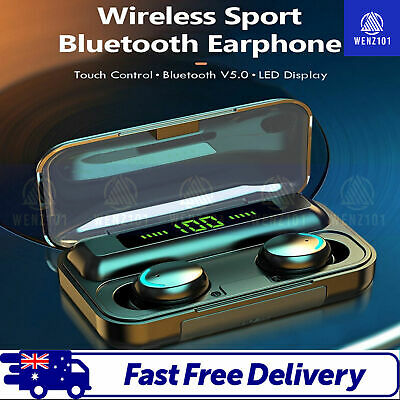 AU23.90 • Buy Bluetooth Wireless Earphones Earbuds Headphones Headset IPhone Samsung Android