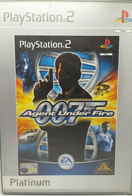 007 Agent Under Fire (PlayStation 2) Bond PS2 Tested & Complete ☆ FREE FAST POST • 3.47£
