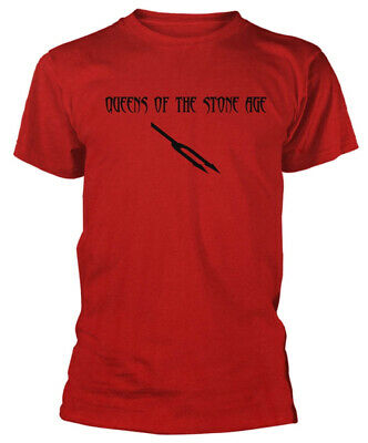 £15.49 • Buy Queens Of The Stone Age 'Deaf Songs' (Red) T-Shirt - NEW & OFFICIAL!