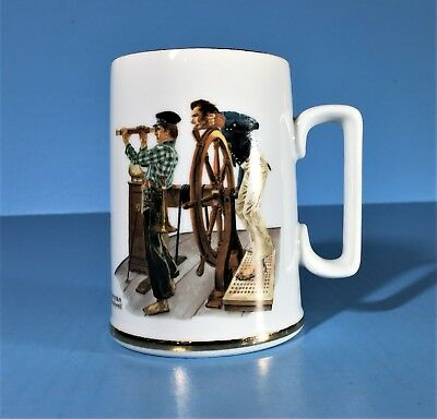 $ CDN14.51 • Buy Vintage Norman Rockwell Museum River Pilot Coffee Cup / Mug Excellent Condition