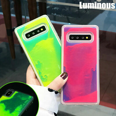$ CDN7.65 • Buy For Samsung Galaxy S10 Plus S9 S8 Note 10 9 Luminous Quicksand Hybrid Case Cover