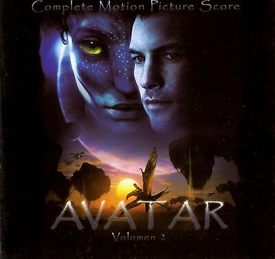 Avatar Vol 2 - 2 X CD Complete Score - Limited Edition - James Horner • 26.95£
