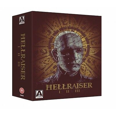 Hellraiser Trilogy - 3 Disc Blu-Ray - Uncut - Special Edition - Clive Barker • 29.95£