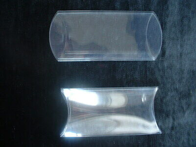 £5.50 • Buy 10 Pillow Boxes, Clear Acetate 12 X 7cms