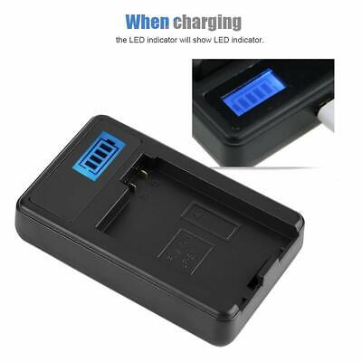 LP-E8 USB Camera Battery Charger With LCD Screen For Canon 550D 600D 650D 700D • 9.32£