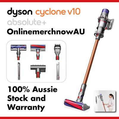 AU1199 • Buy *NEW* Dyson Cyclone V10 Absolute + Plus Cordless Vacuum AU STOCK (2YR Warranty)