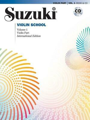 AU37.78 • Buy Suzuki Violin School 1 + CD (Revised) Violin Learn To Play MUSIC BOOK & CD