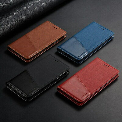 AU15.99 • Buy Classic Flip Magnetic PU Leather Wallet Stand Case Lot Cover Protection Bumper 2