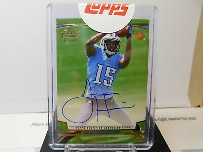 $1.49 • Buy Justin Hunter 2013 Topps Prime Rookie On Card Auto #19/75 Titans