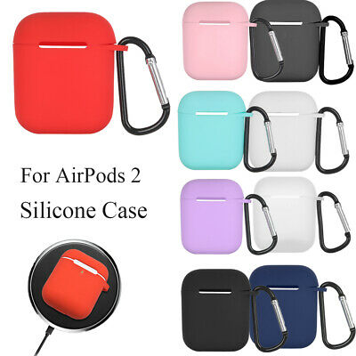 $ CDN2.90 • Buy Case Cover Protective Skin Earphones Pouch For Apple Airpods 2 Charging Box