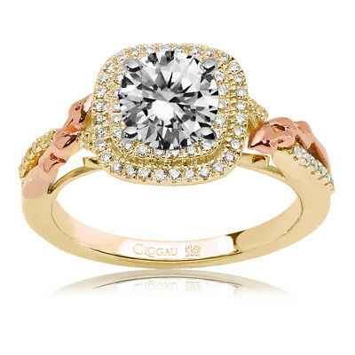 Clogau Compose 18ct Yellow Rose Gold Viola Engagement Ring £1810 Off! 0.5ct. • 1,810£