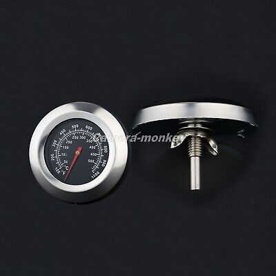 BBQ Grill Temperature Gauge For Outdoor Kitchen Barbecue Charcoal Thermometer • 7.51£