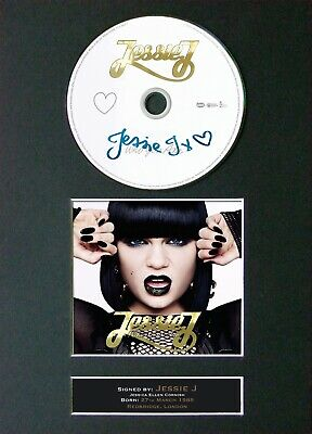 JESSIE J Who You Are Mounted Signed Autograph CD Print A4 #5 • 19.99£