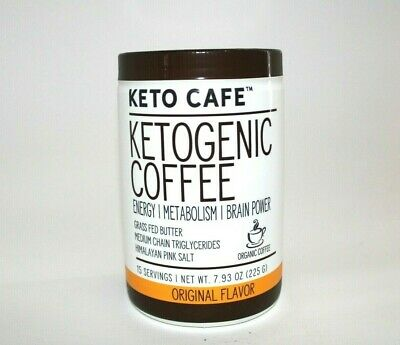 $18.69 • Buy Keto Cafe Ketogenic Coffee Energy/Metabolism/ Brain Power Original Flavor MCT