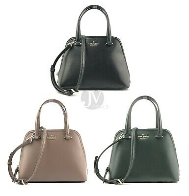Kate Spade Patterson Drive Small Dome Leather Satchel Handbag • 109$