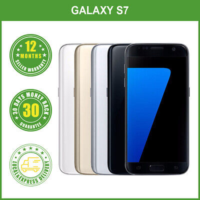 AU279 • Buy New Samsung Galaxy S7 G930F LTE 4G Smartphone 32GB 1Year Wty LOCAL DELIVERY