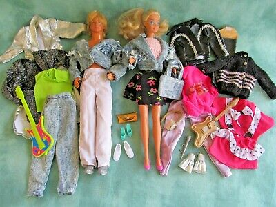 $ CDN24.85 • Buy Vintage Barbie & Ken With Clothing And Accessories