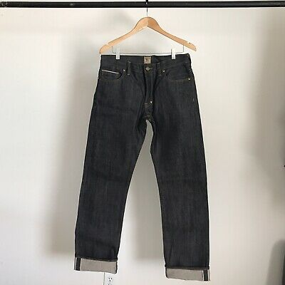 Brand New Prps Goods And Co Raw Selvedge Denim Jeans Indigo Japan Vintage 31 • 63.68£