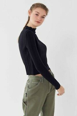 AU15 • Buy Urban Outfitters UO Drew Cable Knit Mock-Neck Sweater
